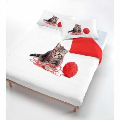 Copripiumone fantasia gattino