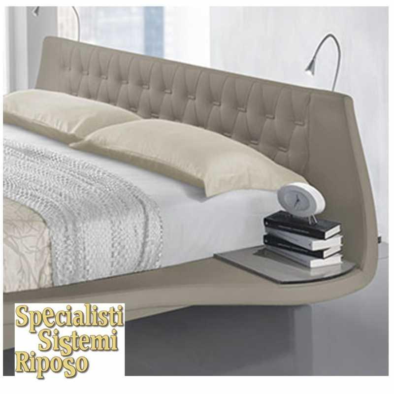Letto giglio con comodini allegati specialisti sistemi riposo - Ikea testiere letto ...