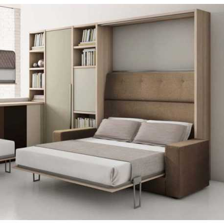 Letto a ribalta con divano composizione B