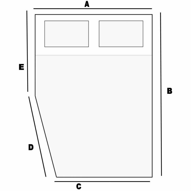Materasso per camper base h 10 cm