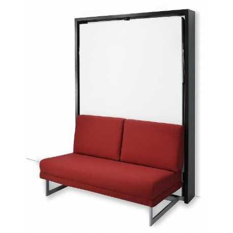 Letto a scomparsa verticale con divano (Art. 4012)