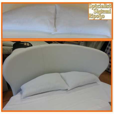 Cuscino guanciale per letto rotondo