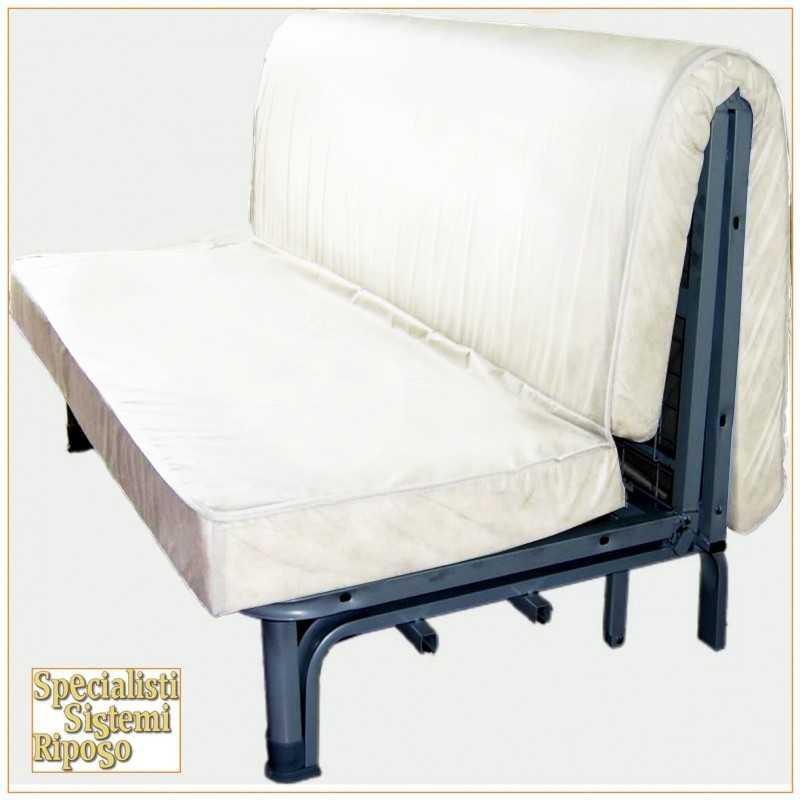 Materasso divano letto sezionato - Letto pieghevole con materasso ...