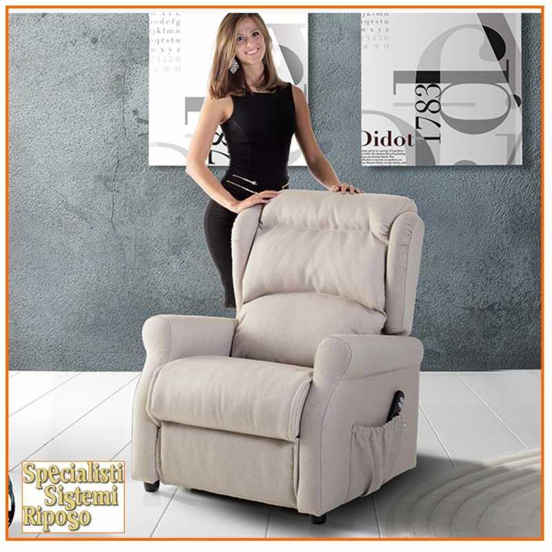 Poltrona Relax Modello Mia.Poltrona Relax Modello Super Comfort