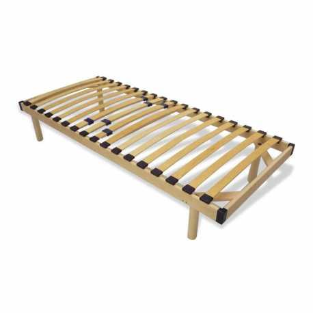 Rete a doghe con telaio in legno singola