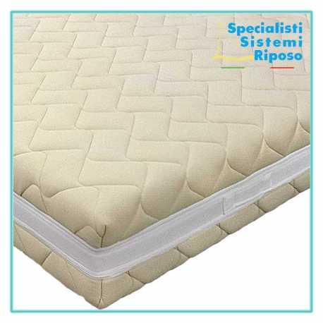 Cover per materasso gestione umidità corporea tessuto termoregolatore