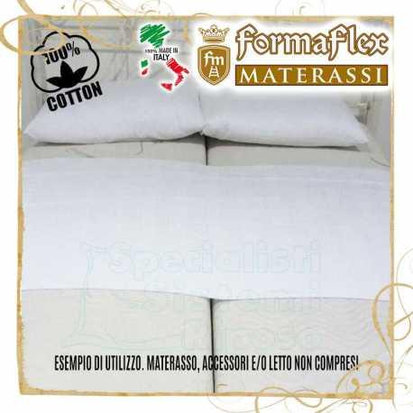 Fascia unisci materassi in cotone con cerniera