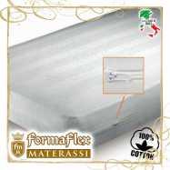 Fodera copri materasso a sacco su misura con cerniera su 2 lati