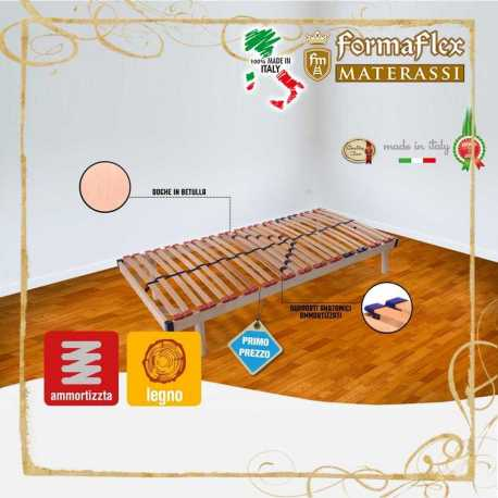 Rete in legno a Doghe modello eco deluxe