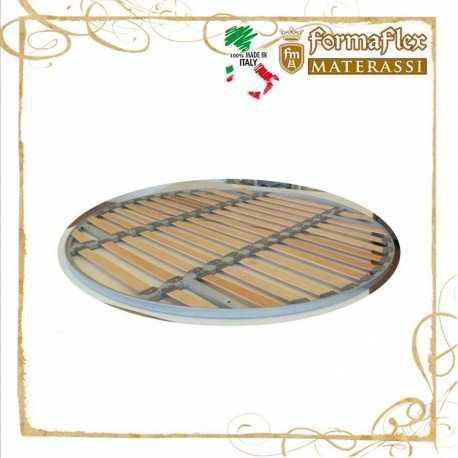 Rete a doghe rotonda con telaio in ferro rinforzata su misura