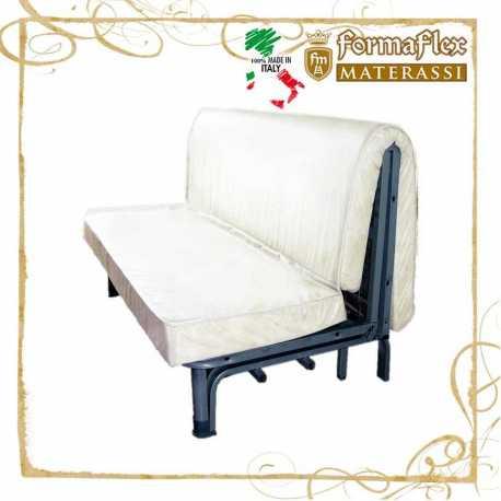 Materasso per divano letto sezionato