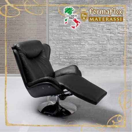 Poltrona emme 1 relax Design modello 43P con schienale ampio