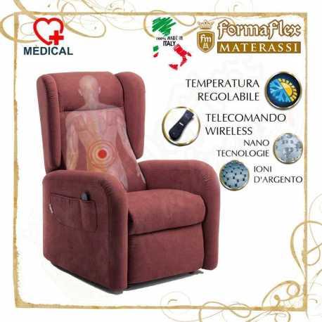 Poltrona relax Modello 45P con termoterapia del dolore lift 2 motori