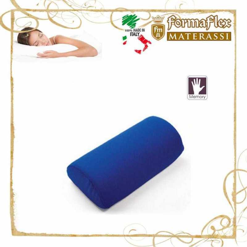 Cuscino memory cilindro per gambe stanche