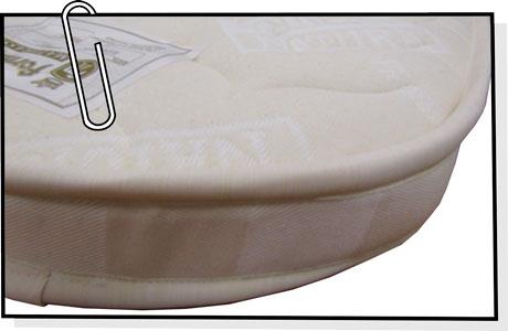 Materassino per culla anti soffoco anallergico su misura